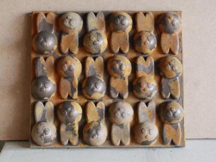 Winston Tile Sculpture – Iron