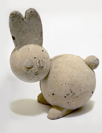 Winston Concrete Figurines