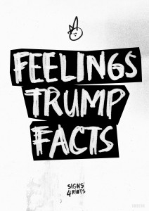 Feelings Trump facts