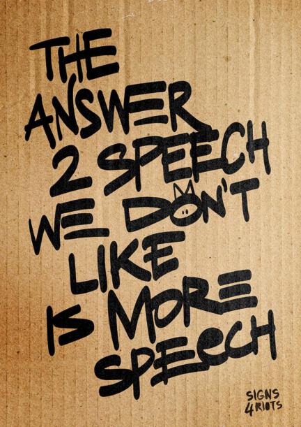 More Speech